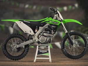 2016 KX250f Dirtbike