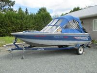 Buy motor get boat  and trailer for free