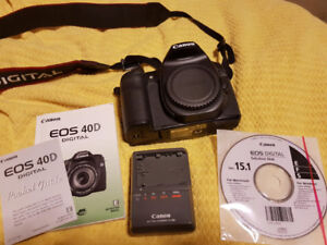 Canon 40D (Only 1030 Actuations - Like NEW)