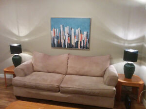 Moving Sale -- Comfy Couch for Sale!