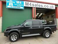 Mitsubishi L200 WARRIOR DOuble Cab Leather A/C Service History