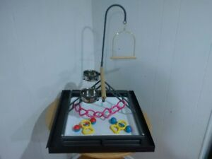 BRAND NEW  Large Playstand For Med to Large Birds