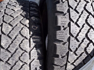 4 winter tires (used)