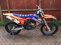 Ktm Sxf 350 2013 model £2695 cheap bike