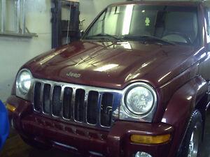 2002 Jeep Liberty Limitée VUS