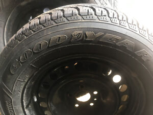 GOODYEAR 235/65R17 Winter tires and rims
