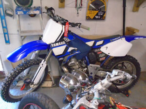 1997 yamaha wr 250 stolen last night