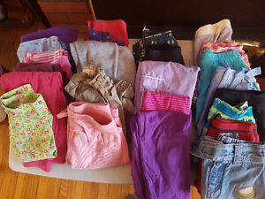 Girls size 4 pants skirts and shorts
