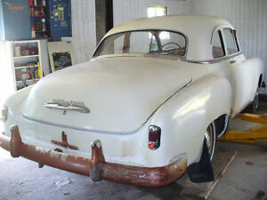 chevrolet 1952 coupe