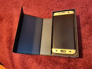 Samsung S7 Edge 32gb (Gold Brushed Cover)