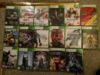 XBOX 360 games. For sale or trade