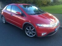 2006 56 Honda Civic sport 2.2 Cdti 6 speed 5 door hatchback # 2 lady owners # service history #