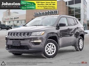 2018 Jeep Compass Sport  - Heated Seats - $87.33 /Wk
