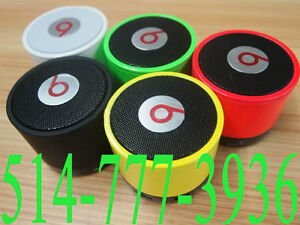 Mini Bluetooth Portable Speaker Beats Box Bose Jambox  COOL !!!