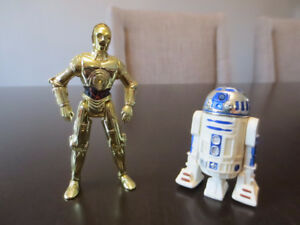 Star Wars - C3PO and R2-D2 figures from 1996/97