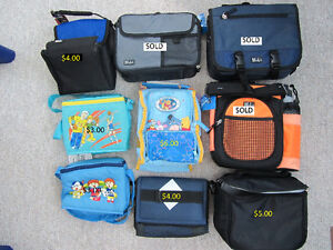 Variety of Brand New Insulated Lunch Bags