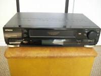 Hitachi VCR with original remote