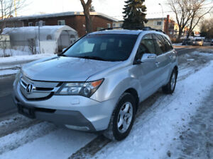 2007 Acura MDX Teck package GPS NAVIGATION 7 place