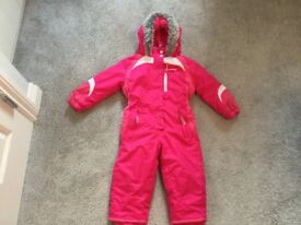 Snow\Ski Suit Pink Age 2-3