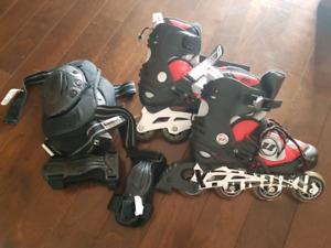 Ultrawheels Rollerblades and gear