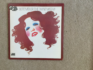 Bette Midler The Divine Miss M 33 1/3 RPM vinyl LP