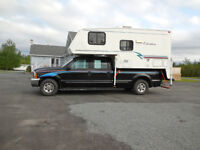 1999 Ford F-350 XLT and CAMPER