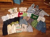 Boy clothes 0-3 up to 24 months!