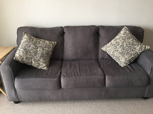 Beautiful grey couch