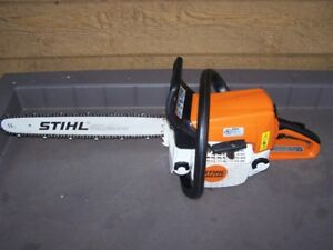 STIHL MS250 CHAINSAW WITH CARRY CASE    $340.00