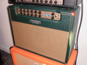 two mesa boogie stilletto amps