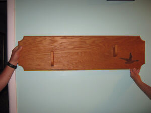 Wooden Gun Rack (professionally handcrafted)
