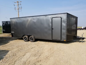 New Impact trailers 22 ' V nose Enclosed car hauler / cargo