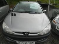 2002 PEUGEOT 206 1.4 LX 5dr [AC] MOT MAY 2018, NICE WEE FIRST CAR