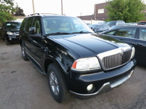 2004 Lincoln Aviator - 6 Passenger, Leather, Htd Seats