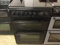 Hotpoint 60 cm black Electric Cooker