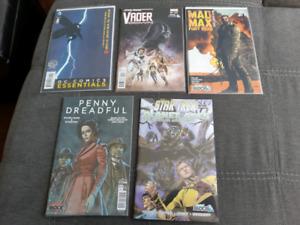 comic lot, Star Wars, Mad Max, Star Trek, Nerd Block
