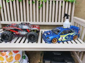 X2 nitro RC cars