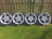 BMW Series 1 alloy wheels 18inch