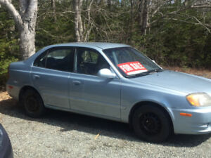 2004 Hyundai Accent Sedan REDUCED $1500 OBO