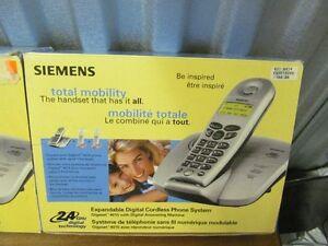 Siemen's 2.4 GHZ Cordless Phones- Brand New