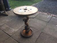 Rover V8 Rat Rod Crank Side Table