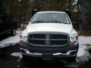 2006 DODGE RAM CREW DUALLY WITH CONTRACTOR BOX