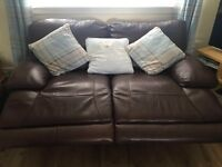 Electric recliners 3 seater and 2 seater