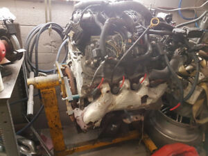 Chevy LS6 All Aluminum Block Complete - NEEDS TO BE REBUILT