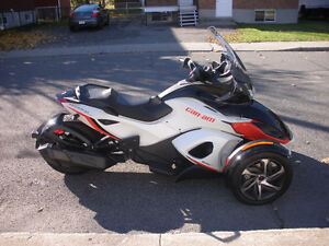 can am spyder st-s se5