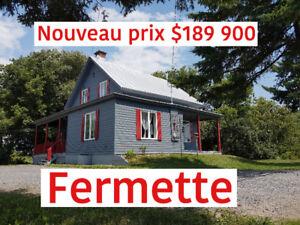 *** NOUVEAU PRIX ***  *** FERMETTE *** 2850 rg du Ruisseau