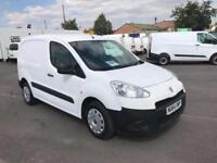 Peugeot Partner L1 850S 1.6 92 PS Euro 5 DIESEL MANUAL WHITE (2014)