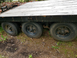 "Tri Axel Trailer  ""SOLD"""