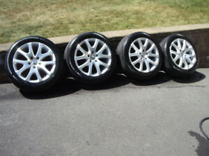 VW mags and summer tires