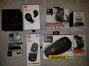 """BRAND NEW IN BOXES CHEAP AUDIO ELECTRONICS FOR SALE"""